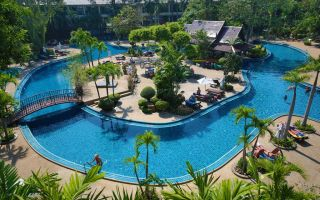 Отель The Green Park Resort 3* Паттайя, Таиланд
