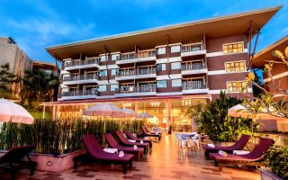 Отель Peach Blossom Resort 4* Пхукет, Таиланд