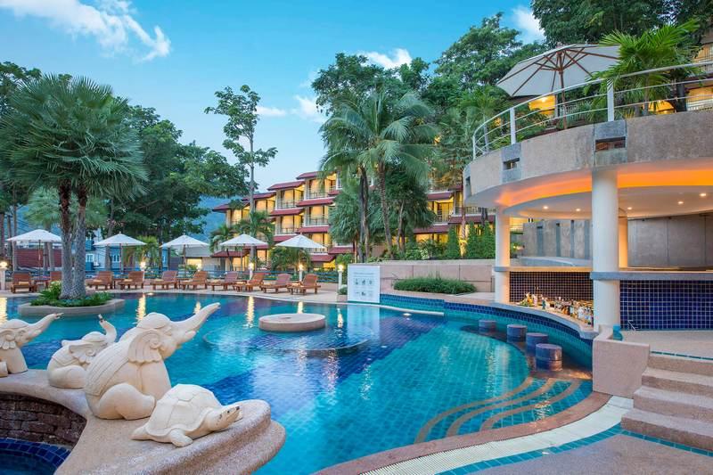 Отель Chanalai Flora Resort 4*, общий вид