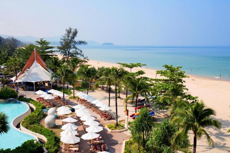 Пляж отеля Centara Grand Beach Resort Phuket 5*