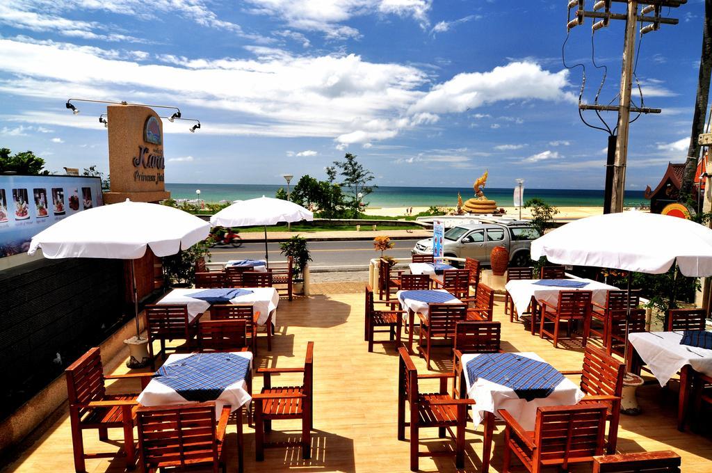 Karon Princess Hotel 3*, открытая терраса ресторана
