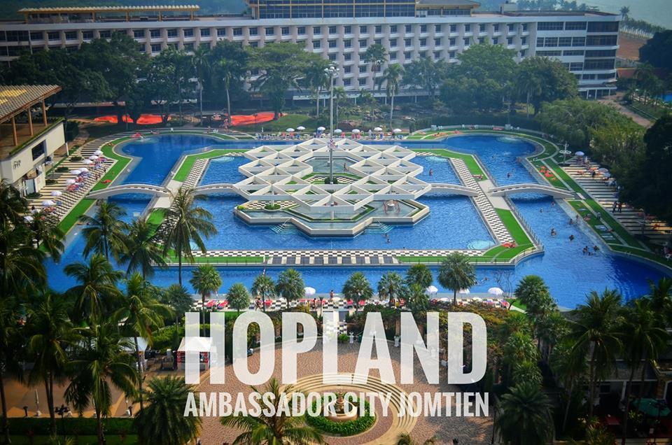 Территория отельного комплекса Ambassador City Jomtien