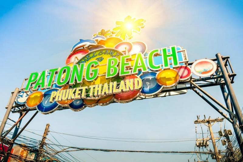 Пляж Патонг, Пхукет, Таиланд