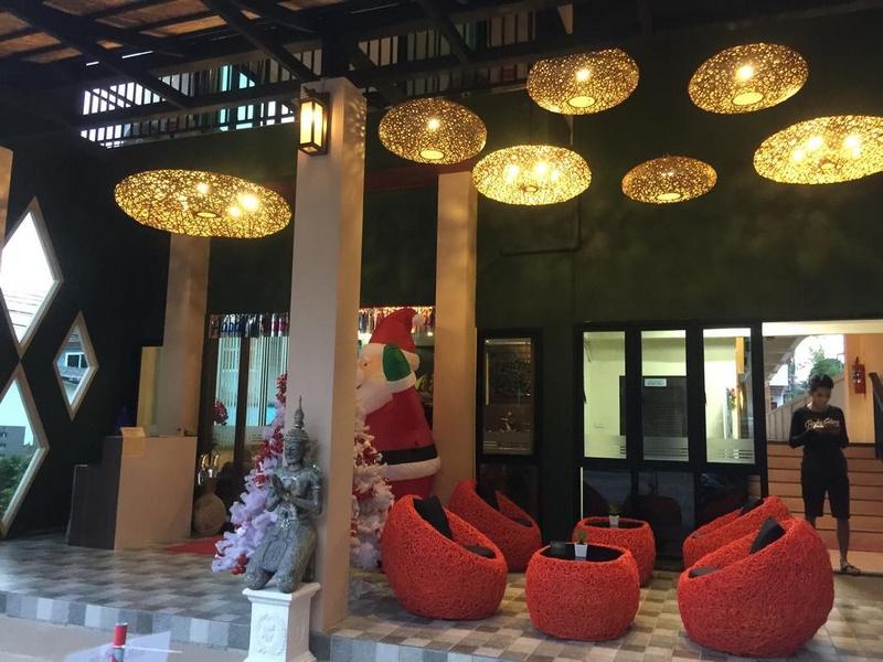 Отель Baan Kata Maytha 3* Ката Бич, ресепшн