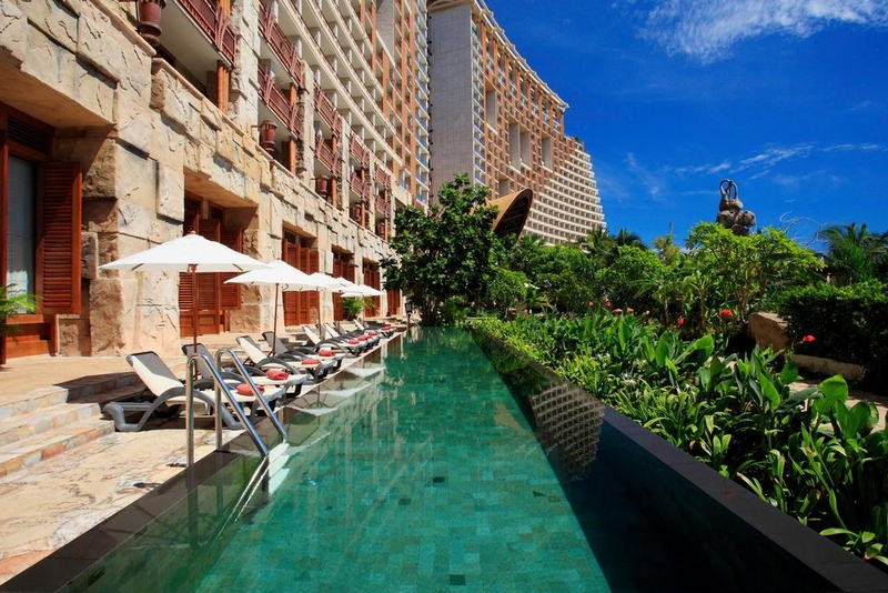 Отель Centara Grand Mirage Beach Resort Pattaya 5*, бассейн