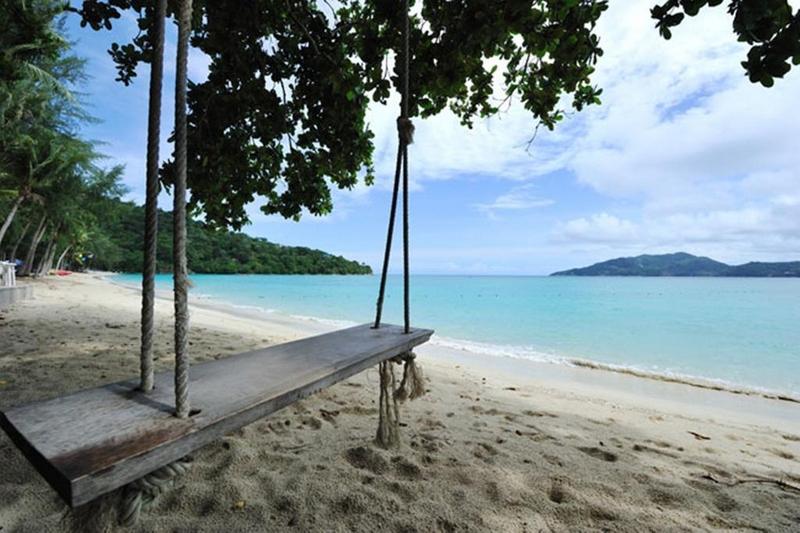 Пляж отеля Tri Trang Beach Resort 4*