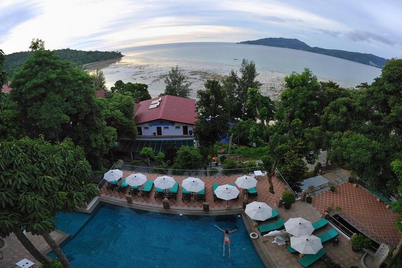 Отель Tri Trang Beach Resort 4*, общий вид