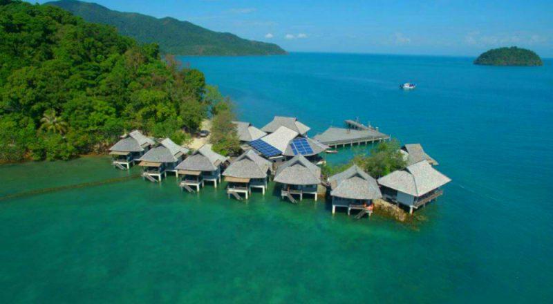 домики на острове